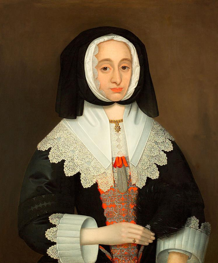 Female Painting - Mrs Lucy Hutchinson, C.1643 by John Souch