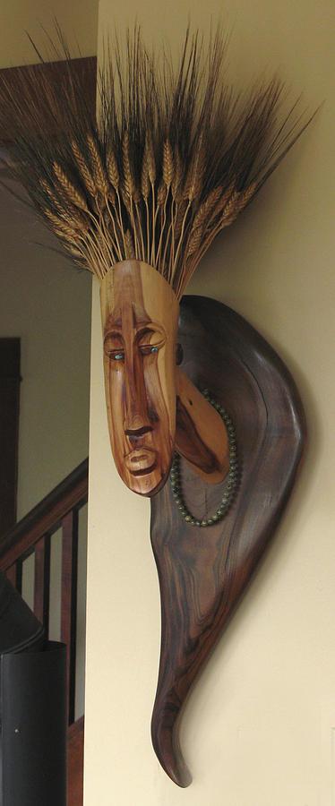 Mrs. Wheathead Sculpture by Windy Dankoff