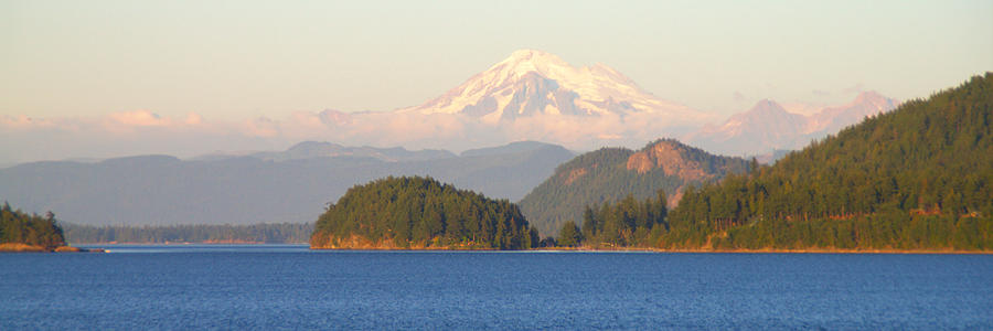 Mountains Photograph - Mt Baker by Brian Harig