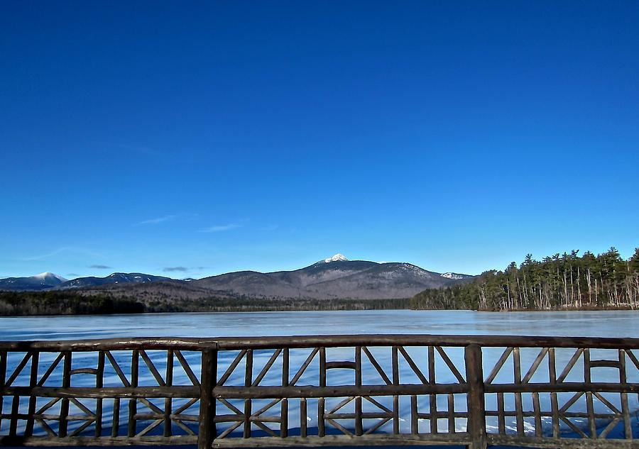 Mountain Photograph - Mt. Chocorua In December  by Elizabeth Tillar