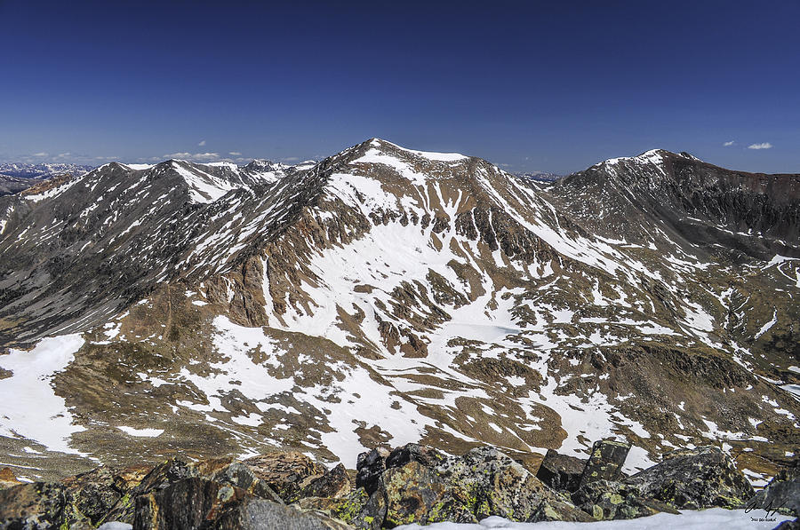 Mt. Photograph - Mt. Democrat by Aaron Spong