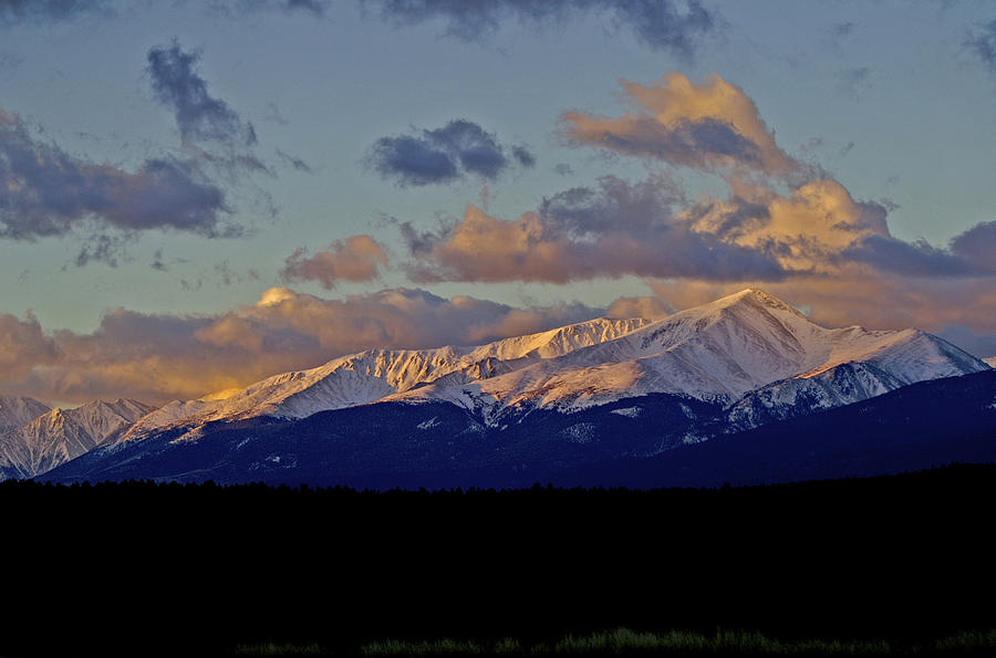 Colorado Photograph - Mt Elbert Sunrise by Jeremy Rhoades