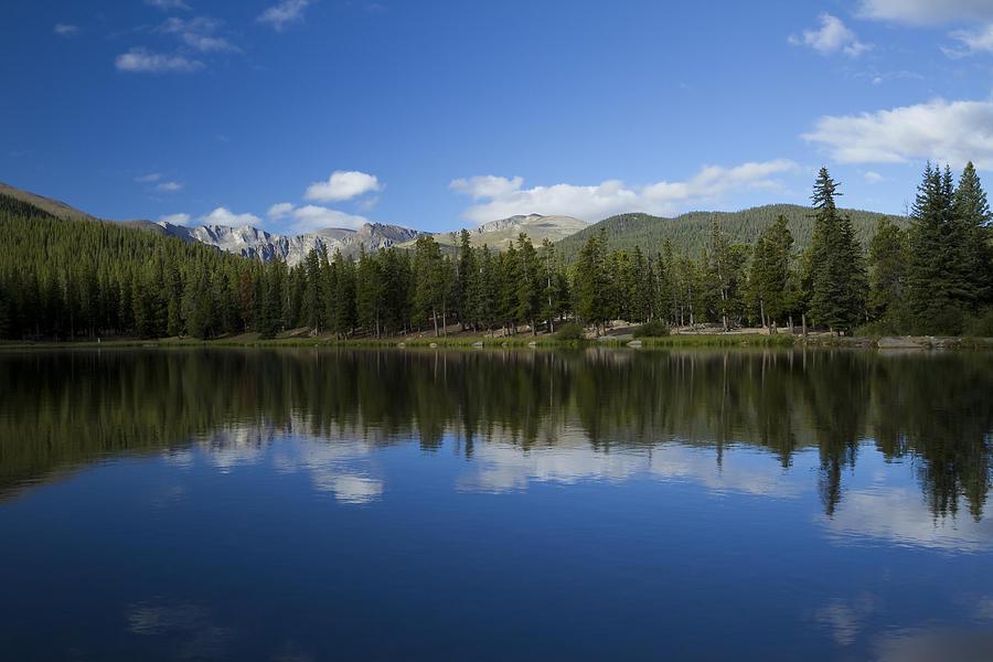 Mt Evans Co Echo Lake 1 Photograph By John Brueske