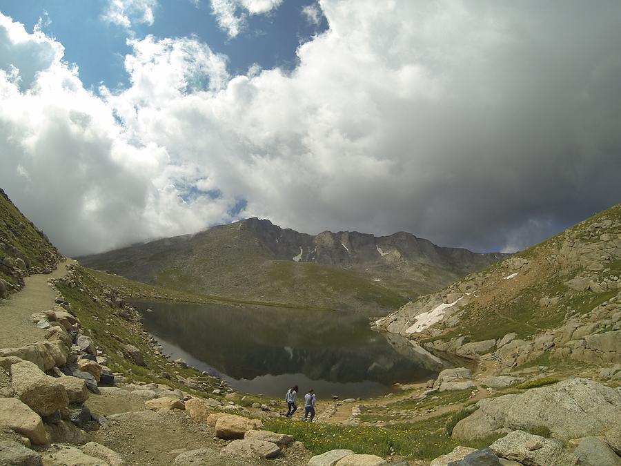 Mt Evans Photograph - Mt Evans Reflection by Rick Lecture