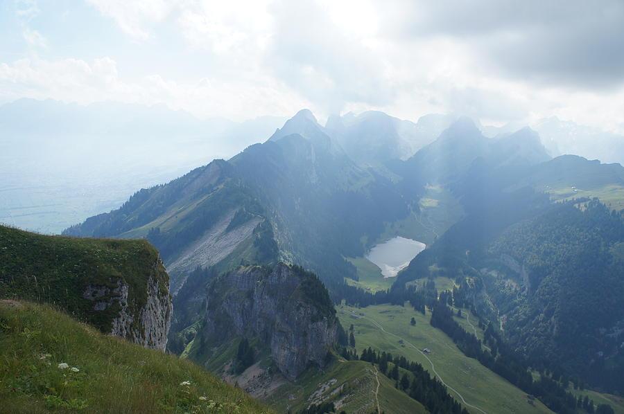Landscape Photograph - Mt. Hoher Kasten - Switzerland by Nikki  Wang