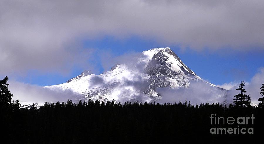 Mt. Hood- Oregon Photograph by Howard Koby