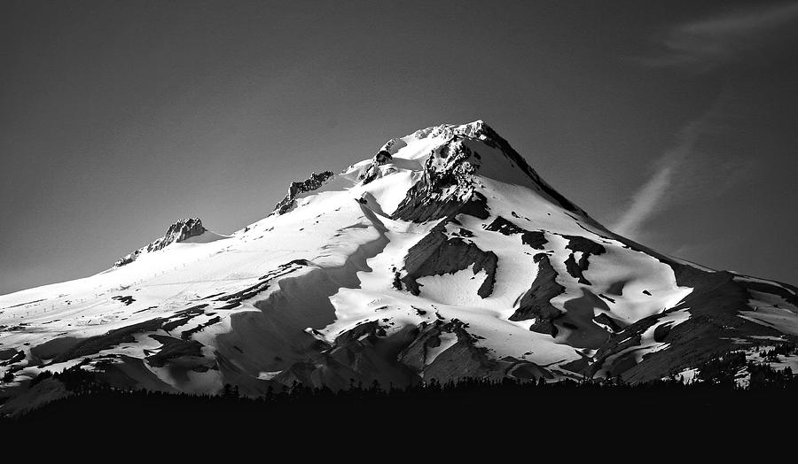 Mountains Photograph - Mt. Hood by Ron Latimer