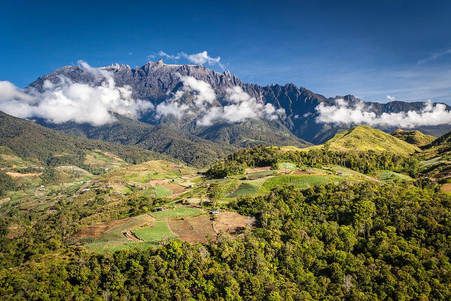 Mt Kinabalu Photograph - Mt. Kinabalu - The Highest Mountain In Borneo by Veronika Polaskova
