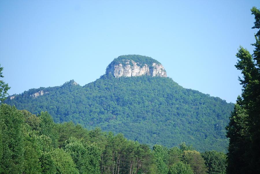 Pilot Mountain Photograph - Mt. Pilot North Carolina by Deborah Velazquez