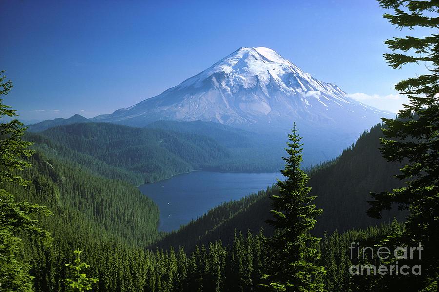 Mt. St. Helens Photograph - Mt. Saint Helens by Thomas & Pat Leeson