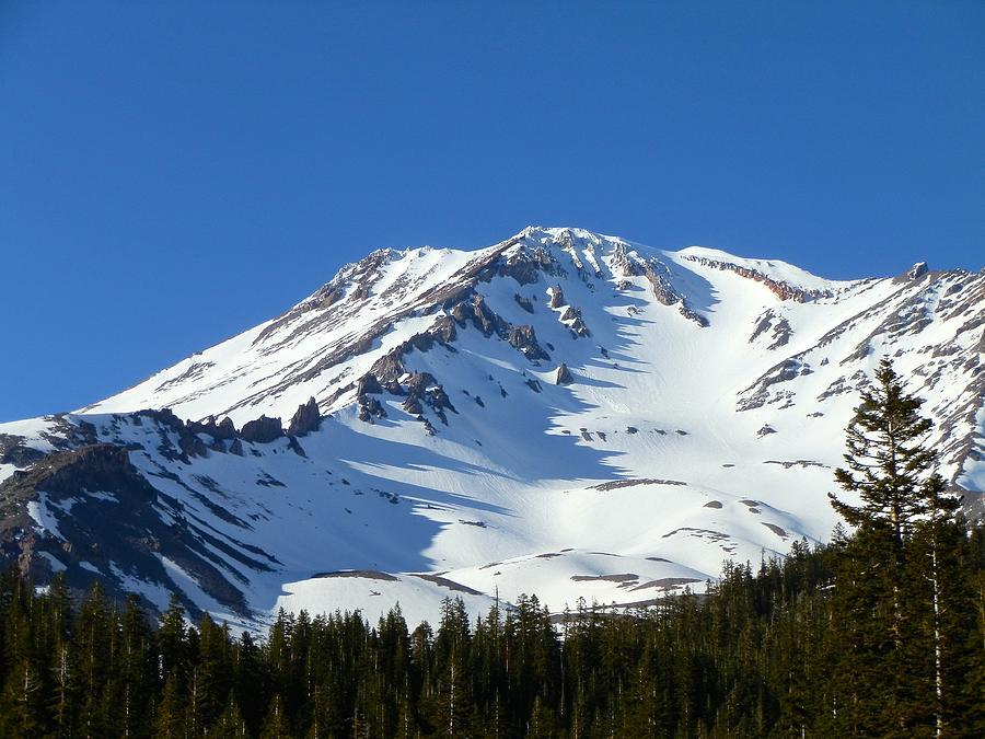 Mt. Shasta Snow by William McCoy