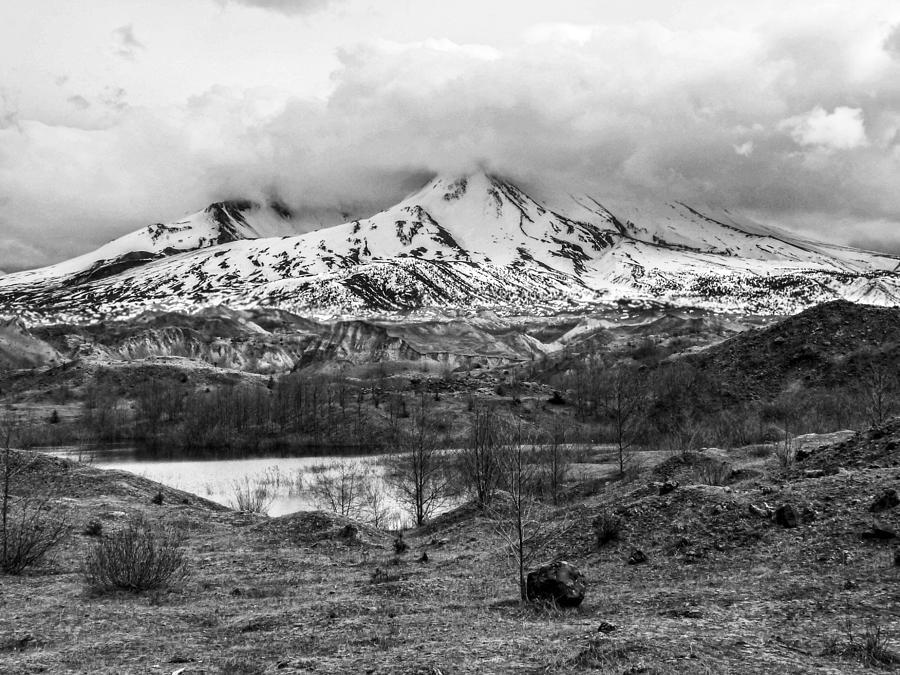 Mt. St. Helen's 2 by Anna Burdette