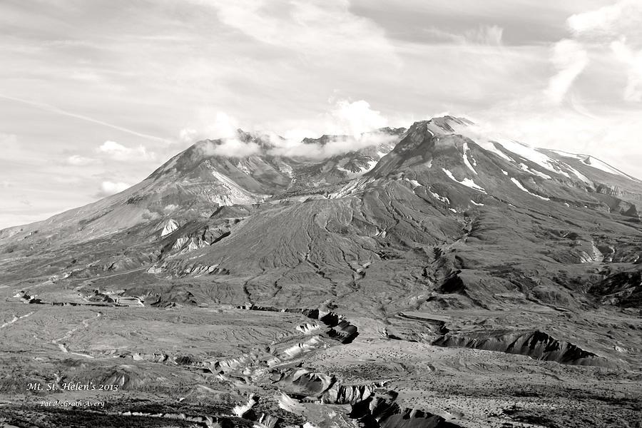 Landscapes Photograph - Mt St Helens by Pat McGrath Avery