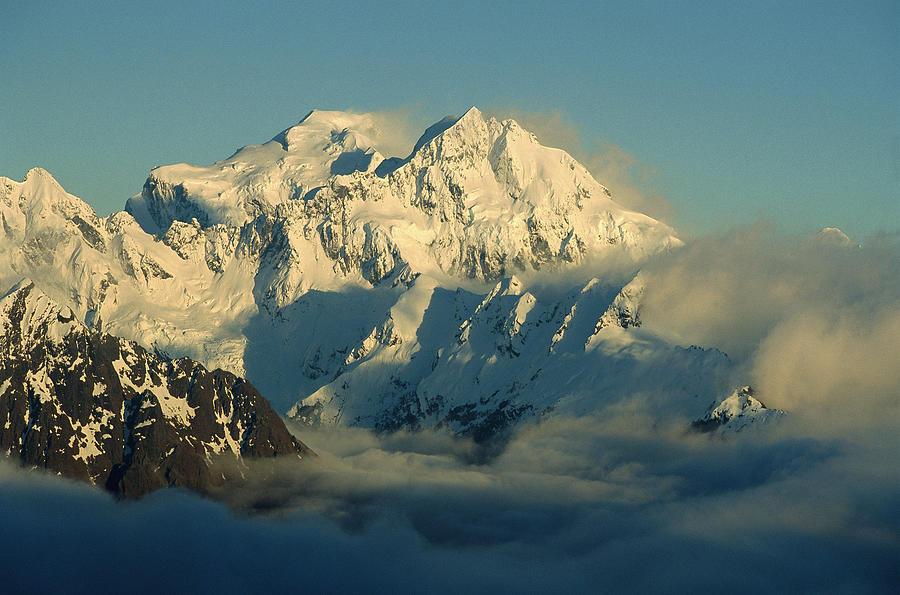Mt Tutuko, Fjordlands Highest Peak Photograph by Colin Monteath
