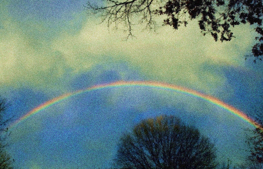 Rainbow Photograph - Much Needed Hope by Denise Beverly