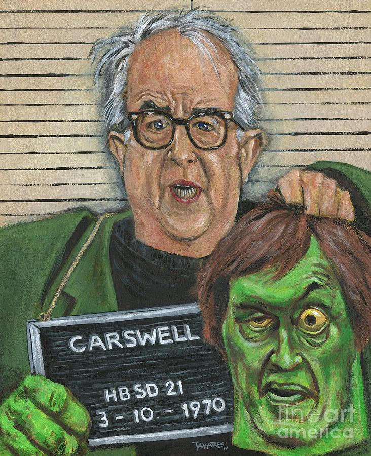 Mugshot of Mr. Carswell aka The Creeper by Mark Tavares