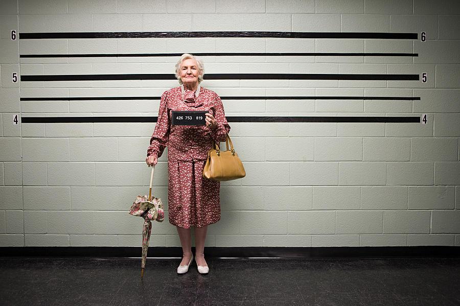 MUgshot of senior woman Photograph by Image Source