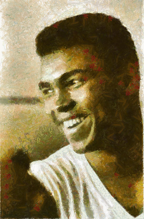 Boxer Digital Art - Muhamad Ali by Galeria Zullian  Trompiz