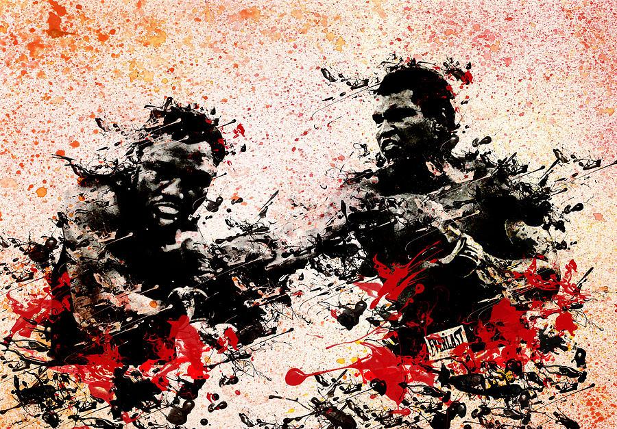 Muhammad Ali Painting - Muhammad Ali 2 by Bekim Art