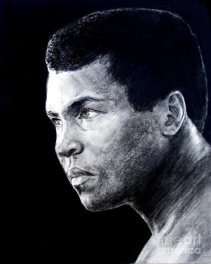 Muhammad Ali Drawing - Muhammad Ali Formerly Known As Cassius Clay IIi by Jim Fitzpatrick