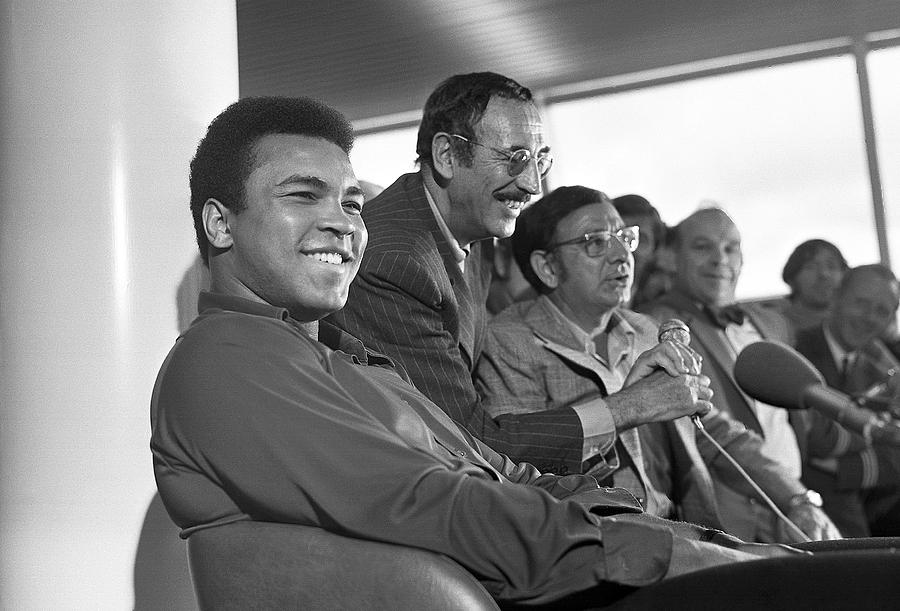 Muhammad Ali Photograph - Muhammad Ali In Relaxed Mood At Dublin Airport by Irish Photo Archive