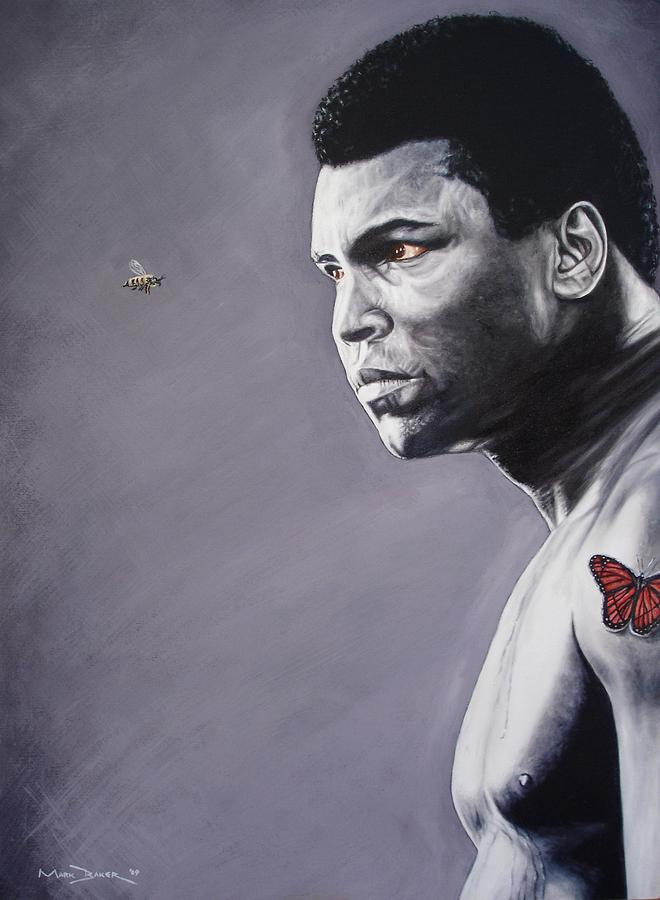 Muhammad Ali Painting - Muhammad Ali by Mark Baker