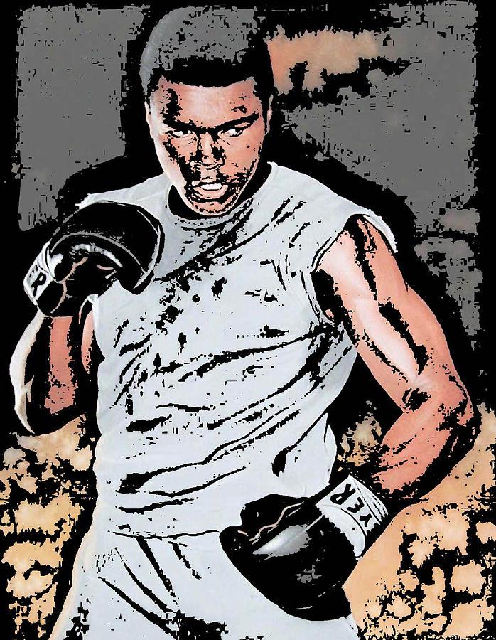 Muhammad Photograph - Muhammad Ali by Tanysha Bennett-Wilson