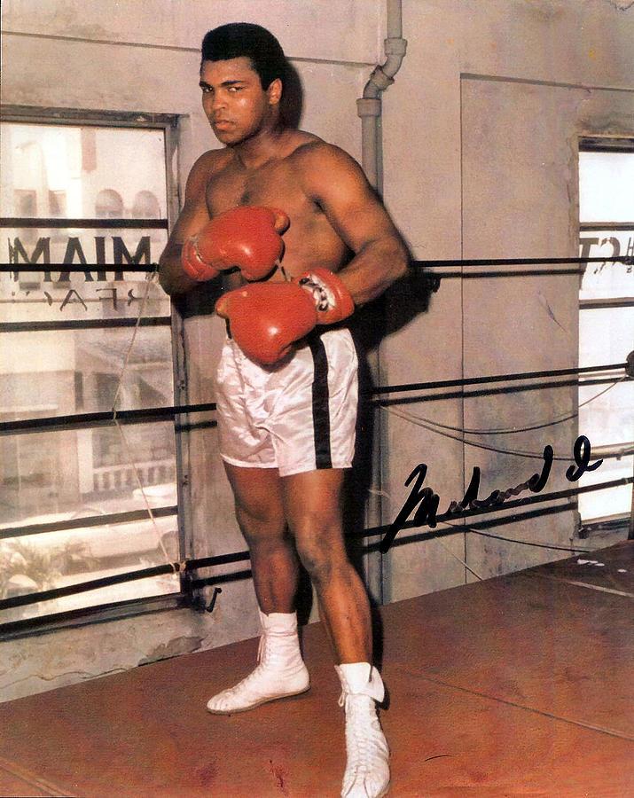 Muhammad Ali Digital Art - Muhammad Ali by Unknown