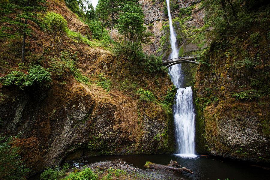 Multinomah Falls by Karen Ulvestad