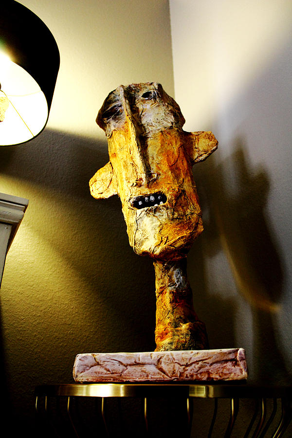 Sculpture Sculpture - Mum No.1 by Mark M  Mellon