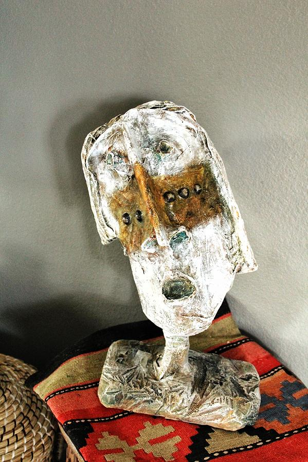 Face Sculpture - Mum No.6 by Mark M  Mellon