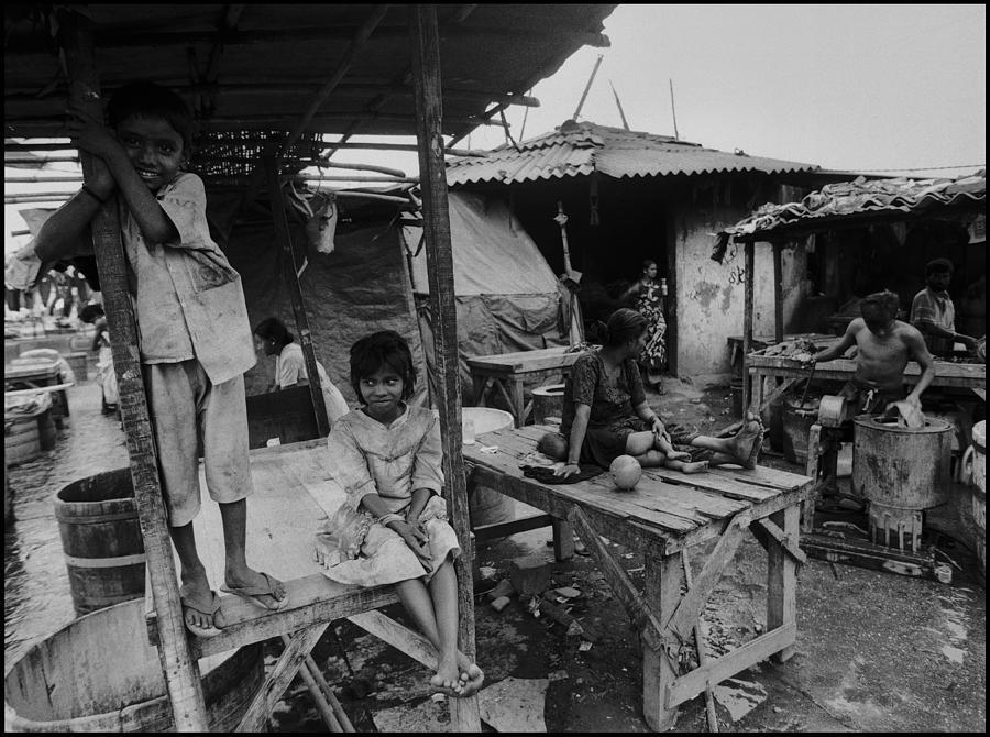 Mumbai Photograph - Mumbai - Dhobi Ghats 2 by Urs Schweitzer