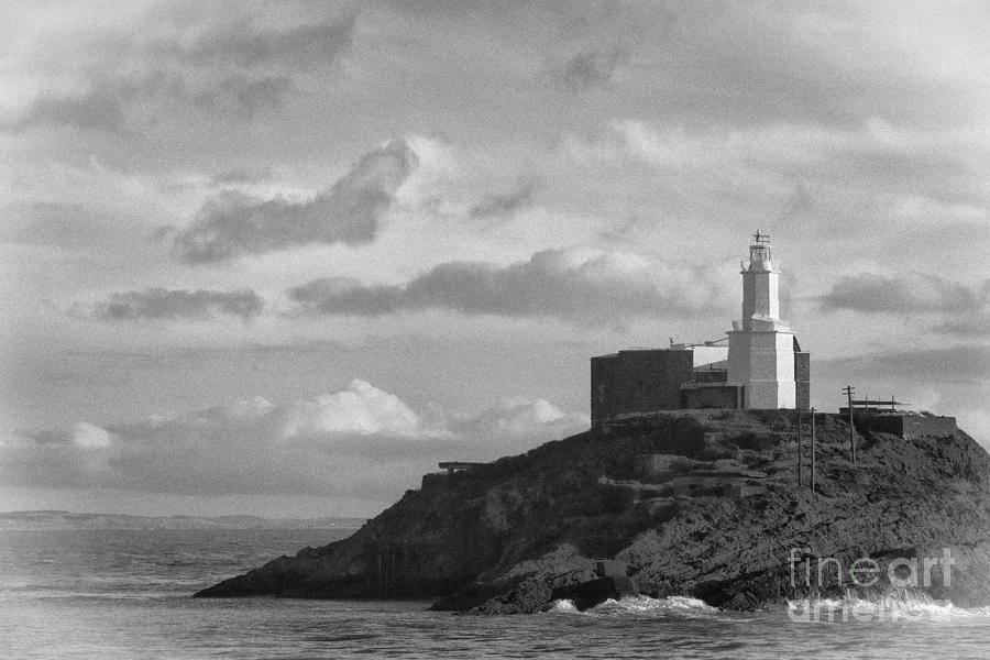 Lighthouse Photograph - Mumbles Lighthouse by Paul Cowan