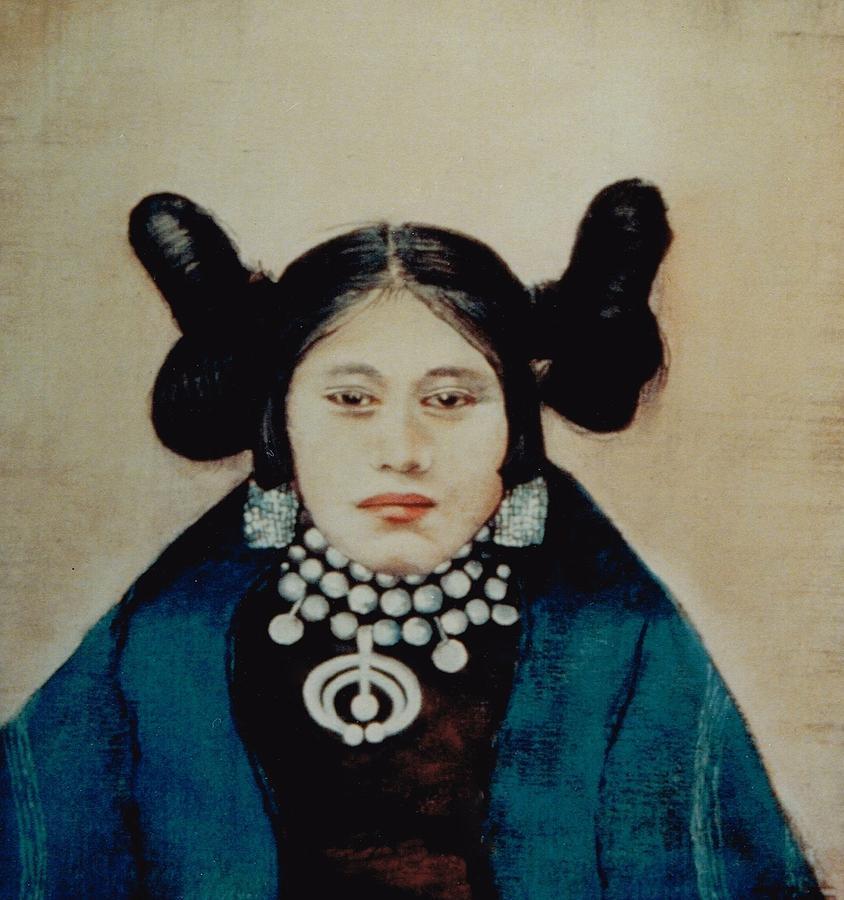 Hopi Painting - Muna by Terri Ana Stokes
