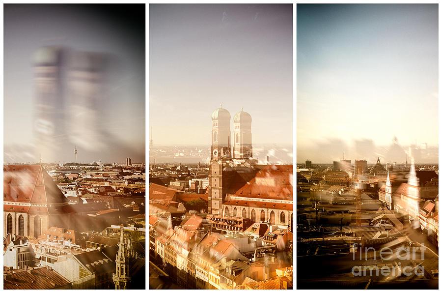 Munich Bavaria Triptych Photograph