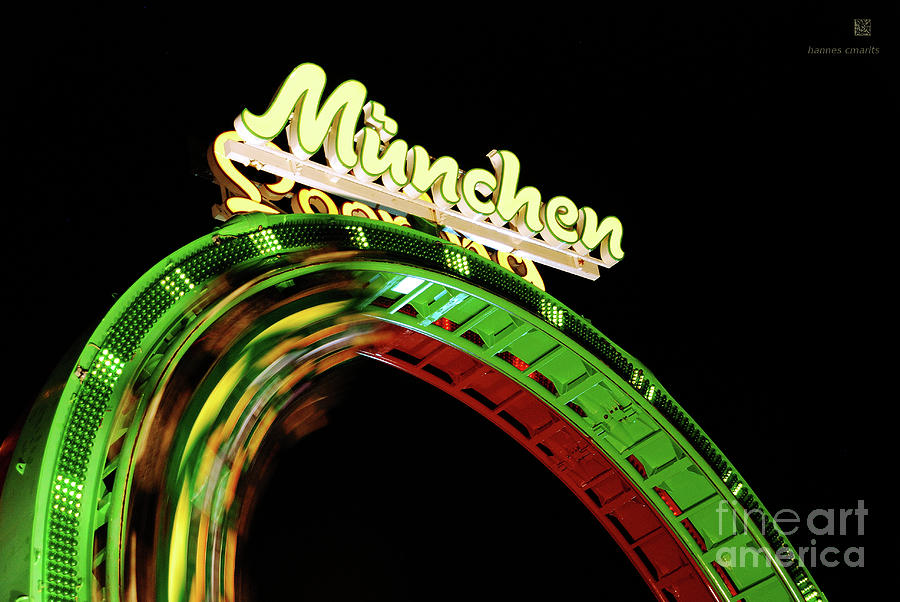 Looping Photograph - Munich Looping by Hannes Cmarits
