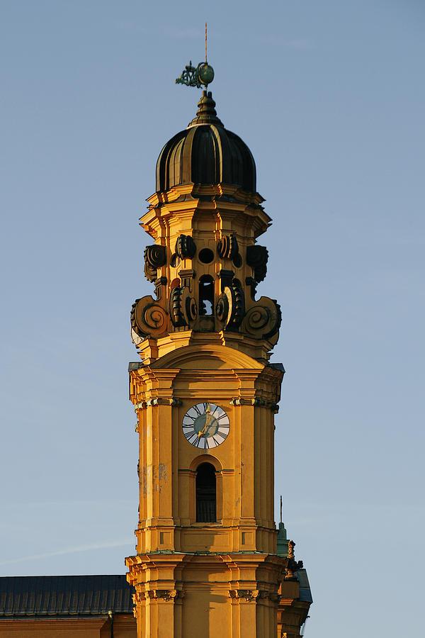 Theatine Photograph - Munich Theatine Church Of St. Cajetan - Theatinerkirche St Kajetan by Christine Till