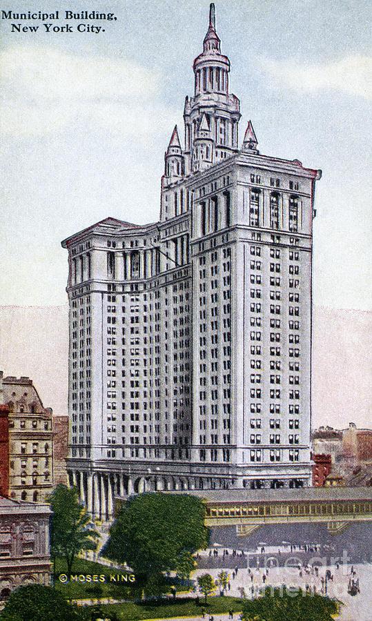 1930 Photograph - Municipal Building by Granger