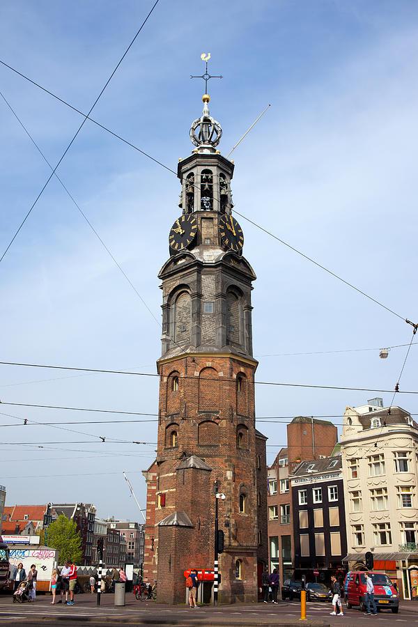 Amsterdam Photograph - Munttoren In Amsterdam by Artur Bogacki