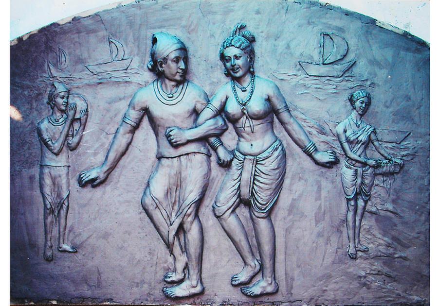 Mural Relief - Mural by Narendra singh Gautam