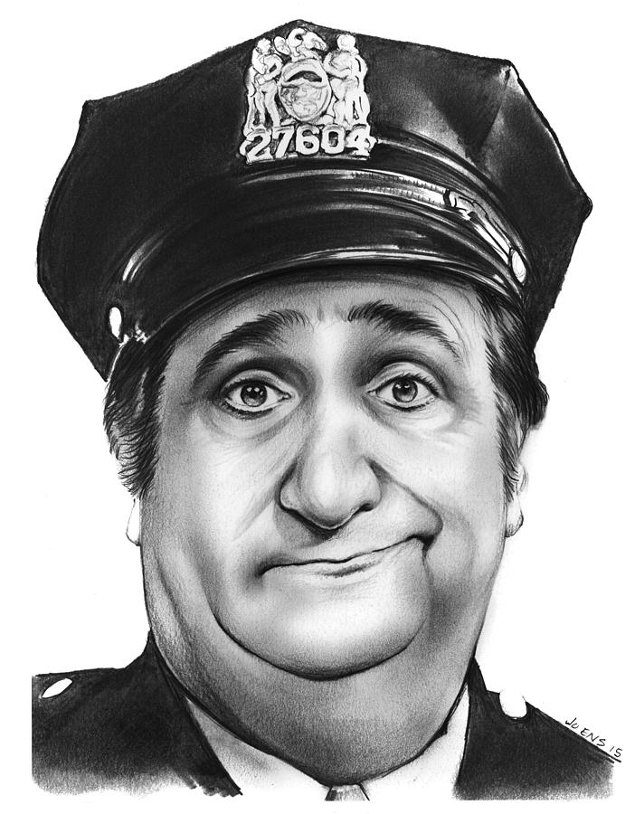 Murray The Cop Drawing