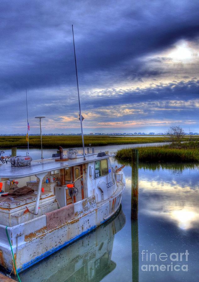 Landscapes Photograph - Murrells Inlet Morning by Mel Steinhauer