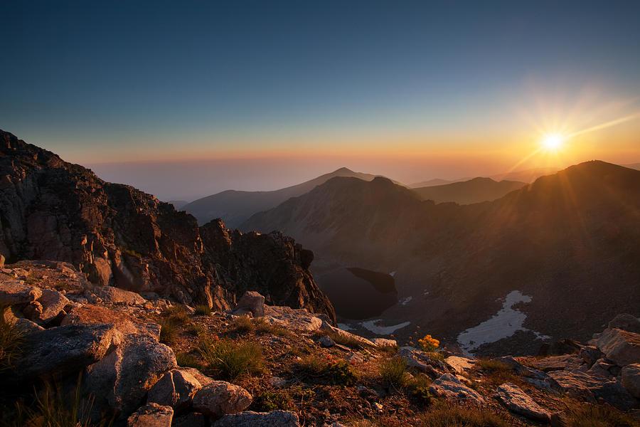 Sunrise Photograph - Musala Sunrise  by Svetoslav Sokolov