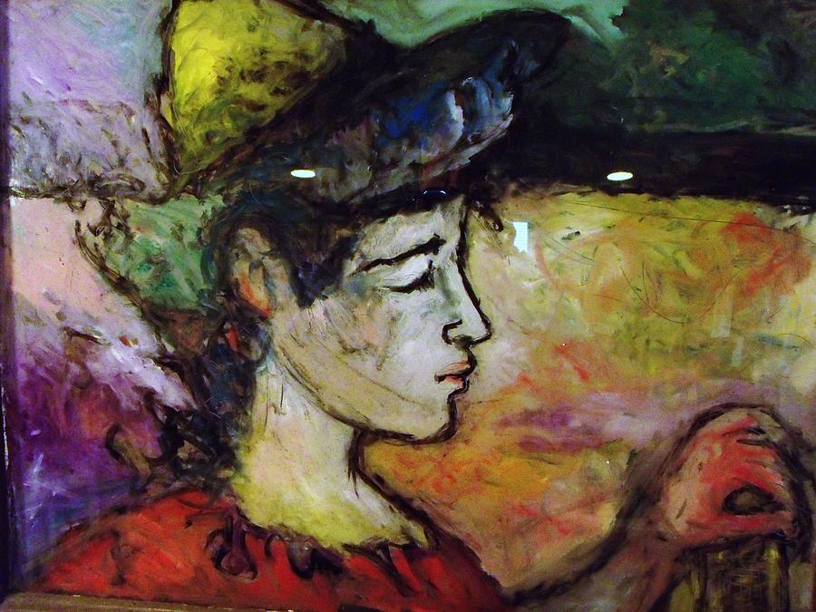 Farmer Painting - Muse Struck by Mykul Anjelo