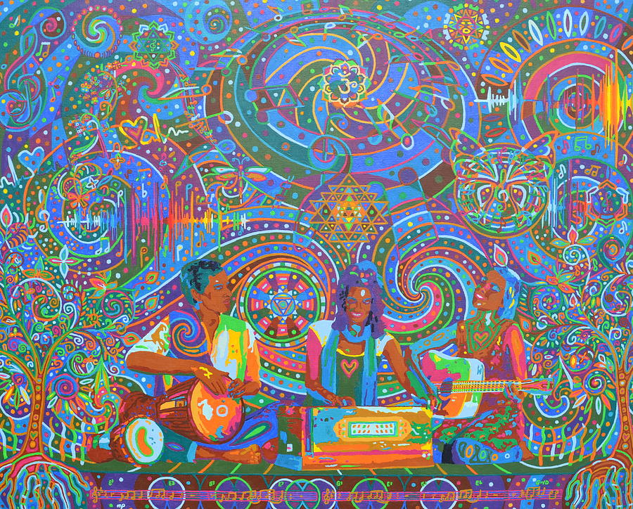 Music - 2014 Painting by Karmym