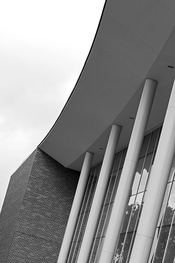 Architecture Photograph - Music Building by Mark McKinney