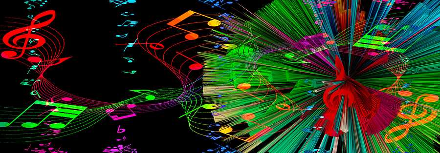 Music Mixed Media - Music Colors The World 3 by Angelina Vick