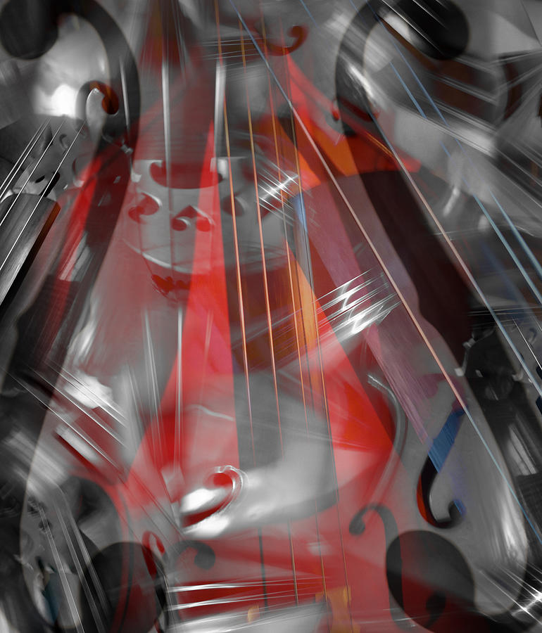 Abstract Photograph - Music On by Florin Birjoveanu