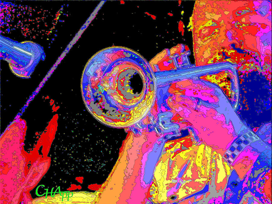 Music Photograph - Music Out Of Metal V by C H Apperson
