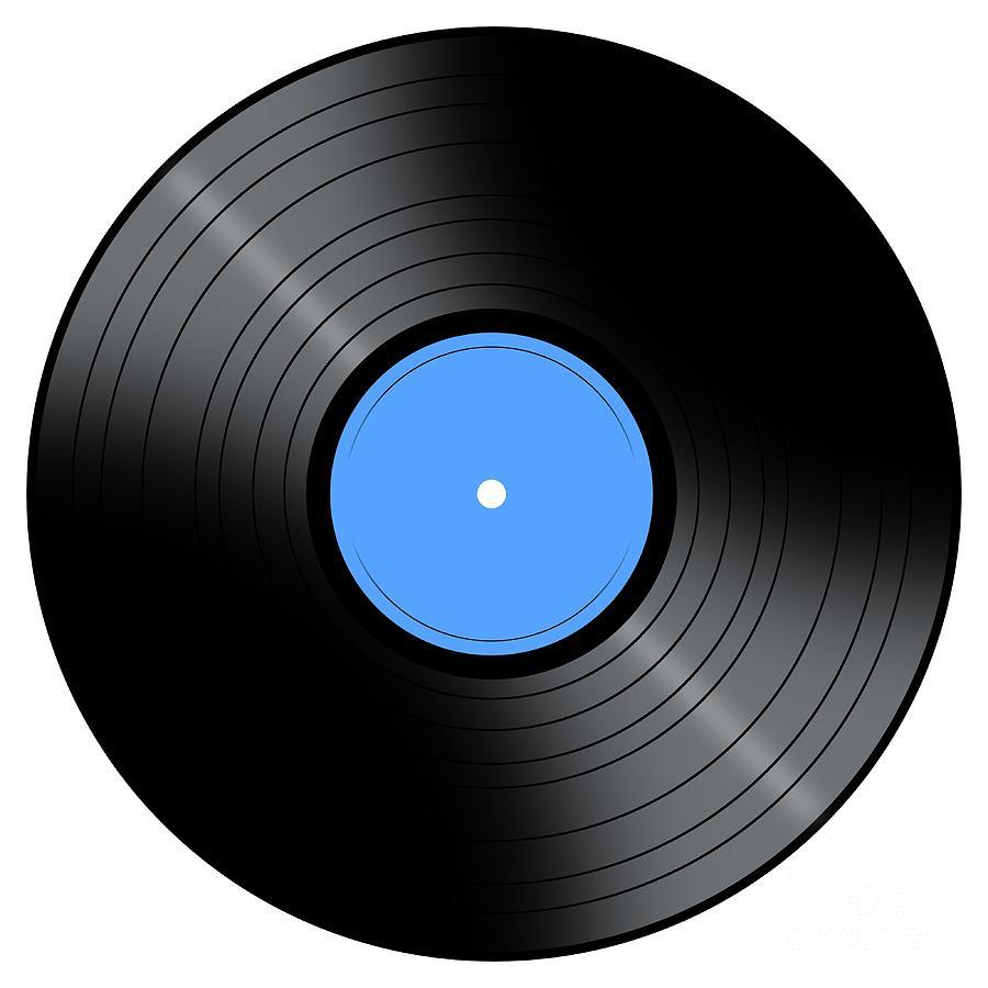 Music Record Digital Art By Henrik Lehnerer